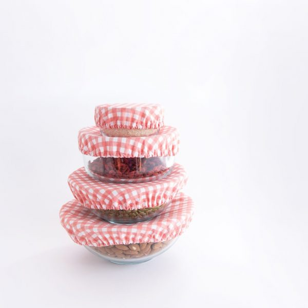 Food covers are great for bowls, plates, fruit, all sorts!