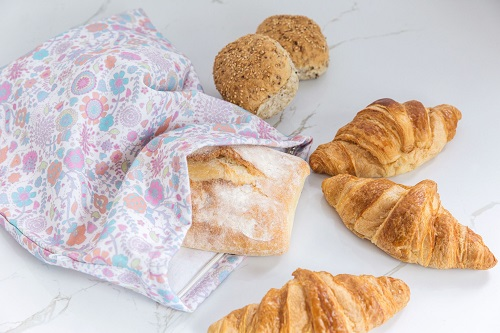 Keeps all your pastries and bread fresher for longer.